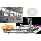 Potato starch manufacturing process