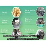 Automatic potato starch processing machine