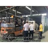 Cassava starch processing plant sales to Nigeria