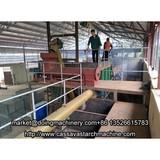 Small scale cassava starch processing plant sales to Tanzania