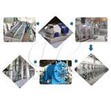 Cassava starch production line and processing machinery