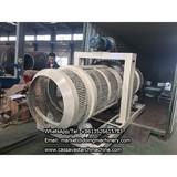 Cassava starch production process and making machinery