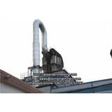 Cassava flour processing flow chart with cassava flour processing machine