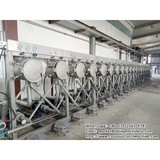Cassava starch separating machine and cassava starch refining machine hydrocyclone in cassava starch production