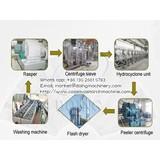 High quality cassava starch proecessing equipment in cassava starch processing plant
