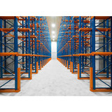 Drive in racking system for warehouse