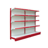 Used supermarket display stands shelves