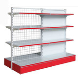Steel rack cosmetic display shelf cabinet for alcohol