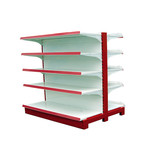 Used store rack basket shop fitting supermarket rack and trolley