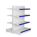 Cosmetic modern display shelf for large breasts