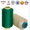 T-shirt fabric yarn ,colorful dope dyed polyester yarn dty 300D/96F