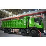 Saic Hongyan LNG Dumper Dump truck