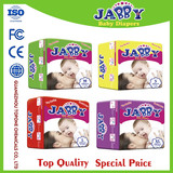 China Manufacturer Jabby Brand Comfortable Super-Absorbent Full-Energy Baby Diapers
