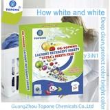Wholesale No Phosphorus No Fluorescent Bleaching Agent Low Foam Easy Laundry Sheet