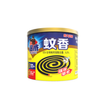 Natural mosquito coil with tin can