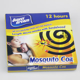 Sweet dream China chemical formula mosquito killer black mosquito coil with stand