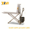 1000kg manual electric Stainless High Lift Scissor Truck