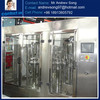 Automatic glass bottle wine/vodka filling capping machine