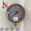 Bayonet Ring Bezel Bottom Connection Pressure Gauge