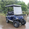 2+2 seats electric golf cart with off road tire cheap for sale