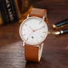 2018 hot real leather elegance men and women watch top brand leather