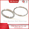 KB025AR0 thin section ball bearings, thin wall radial ball bearing for Packaging equipment,52100angular contact bearings