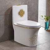 2018 New design one piece siphonic luxury decoration good sale toilet bowl wc with competitive price from china