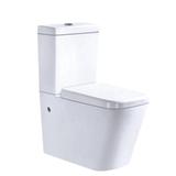 Chaozhou good quality ceramic p trap washdown Australia bathroom big size two piece back to wall toilet wc