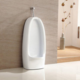 Home used hotel ceramic floor mounted bathroom sanitaryware wholesale price white male urinal