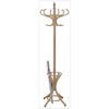 wooden coat hanger & wooden coat rack
