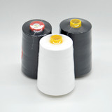 AAA Garde Low Shrinkage Raw White Sewing Thread Dyed Polyester Yarn