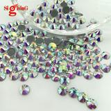 Wholesale Premium Hot fix Rhinestones Crystal ab for costume dress