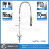 Dual Deck Mounted Pre-Rinse Faucet Stainless Steel 304