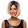 Noble gold synthetic hair wig popular silky straight wigs short blonde bob wig for white woman