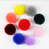 Rabbit fur ball/rabbit fur pompon/fake rabbit fur pompom