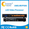 LED Video Processor Scaler Support 2 Sending Cards Nova MSD300 Linsn TS802D LED Video Wall Controller DVI VGA AV HDMI AMS-MVP506