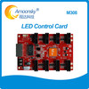 hd video wall use new design AMS-M308 receiving card compare to huidu control card for full color large video wall displays