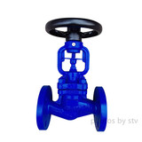 DIN 3356 Bellows Seal Globe Valve,GS-C25 Body ,DN25,PN16