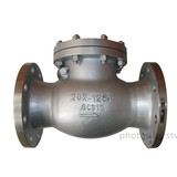 JIS20K Swing Check Valve,SCS13 Body,DN125,Flange End