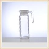Professional centerpiece tall transparent jar water filter pitcher