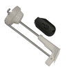 New stock EAS security display tag Invue hook tag slat wall hook lock