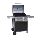 3 burners outdoor gas grill