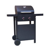 2 burners outdoor bbq gas grill