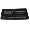 3pcs stainless steel bbq tools set with pvc box