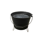 Easy Carry Outdoor BBQ Bucket Charcoal BBQ Grill