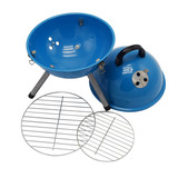 12 inch outdoor camping portable round charcoal bbq grill