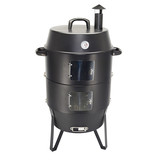 charcoal BBQ smoker grill