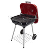 Portable bbq charcoal grill trolley churrasqueira BBQ grill