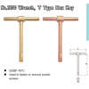 Non-Sparking T Type Hex Key Wrench