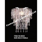 Foshan JNY Lighting Faux Crystal Ceiling Chandelier with Sparkling Beaded Chandeliers for Wedding Centerpiece Event Party